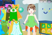 baby dressup game
