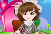 Bersh Baby Dress Up game