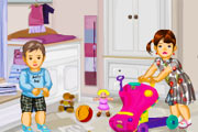 Cute Babies Dress-up game