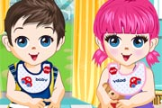 Cute Twin Babies game