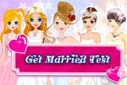 Get Married Test game