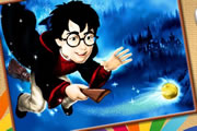 Harry Potter Online Coloring game