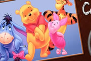 Shy Pooh Online Coloring game