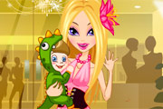 Super Model New Mom game